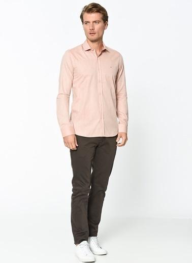 Wessi Slim Fit Uzun Kollu Gömlek Renkli